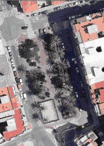Plaza de la Constitución a vista de Pájaro